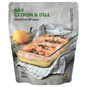 SÅS CITRON & DILL Соус с лимоном и укропом, 0.25кг