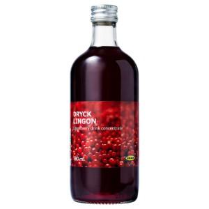 DRYCK LINGON Брусничный сироп, 0.5л