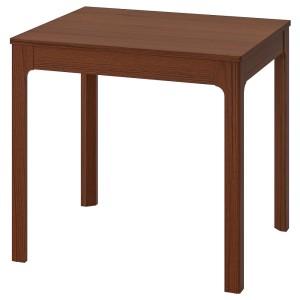 ЭКЕДАЛЕН Раздвижной стол, коричневый
