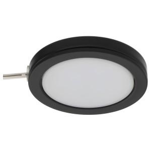ОМЛОПП Софит светодиодный, черный
