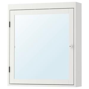 СИЛВЕРОН Шкафчик зеркальный, белый