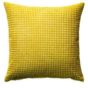 ГУЛЛЬКЛОКА Чехол на подушку, желтый