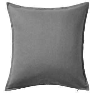 ГУРЛИ Чехол на подушку, серый