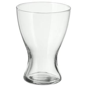 ВАСЕН Ваза, прозрачное стекло