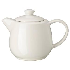 ВАРДАГЕН Чайник заварочный, белый с оттенком