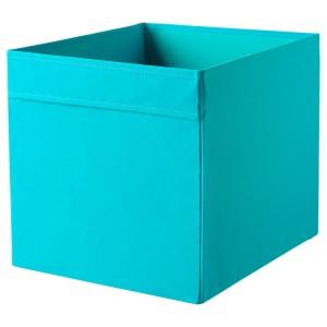 ДРЁНА Коробка, синий, 1шт