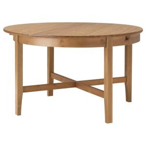 ЛЕКСВИК Раздвижной стол, морилка,антик