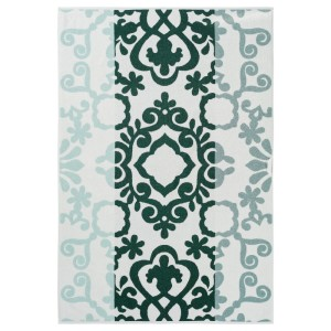 БЛЭДЬЕН Банное полотенце, зеленый