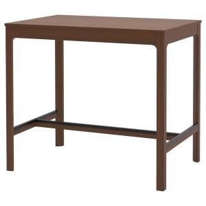 ЭКЕДАЛЕН Барный стол, коричневый