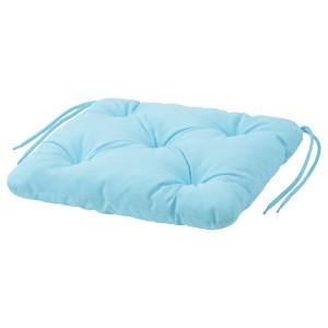 КУДДАРНА Подушка на садовый стул, голубой