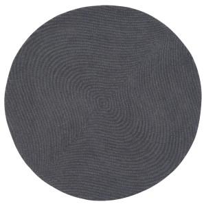 ВОСТРУП Ковер, короткий ворс, светло-серый