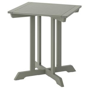БОНДХОЛЬМЕН Садовый стол, серый морилка серый