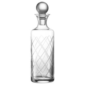 ЧАРМЕРА Графин с пробкой, прозрачное стекло