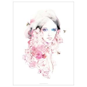 ПЬЕТТЕРИД Картина, Девушка в цвету
