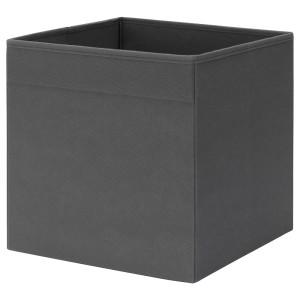 ФЮССЕ Коробка, темно-серый