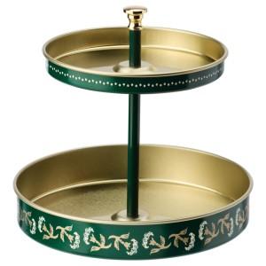 АНИЛИНАРЕ Подставка д/канцелярских принадлежн, зеленый золотой, металлический