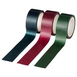ВИНТЕР 2020 Клейкая лента, разные цвета, 15м