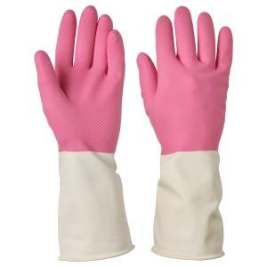 РИННИГ Хозяйственные перчатки, розовый