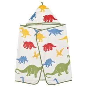 ЙЭТТЕЛИК Полотенце с капюшоном, динозавр, разноцветный