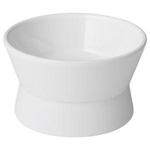 ЛУРВИГ Двусторонняя миска, белый