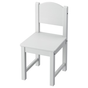 СУНДВИК Детский стул, серый