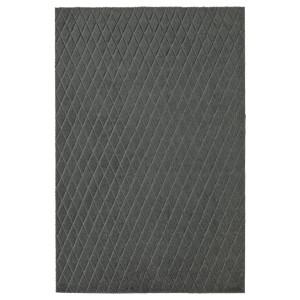 ОСТЕРИЛЬД Придверный коврик для дома, темно-серый