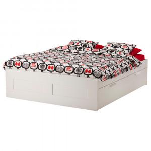 БРИМНЭС Каркас кровати с ящиками
