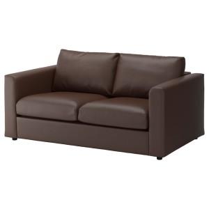 ВИМЛЕ 2-местный диван, Фарста темно-коричневый