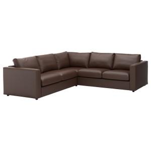 ВИМЛЕ 4-местный угловой диван