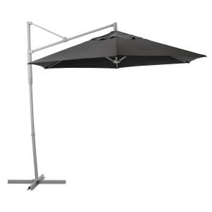 ОКСНЭ / ЛИНДЭЙА Зонт от солнца, подвесной, черный