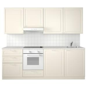 МЕТОД Кухня, белый, Будбин белый с оттенком