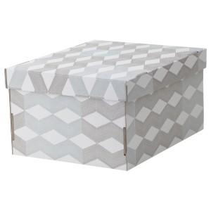 СМЕКА Коробка с крышкой
