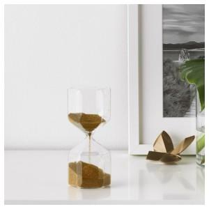 ТИЛЛСЮН Декоративные песочные часы, прозрачное стекло
