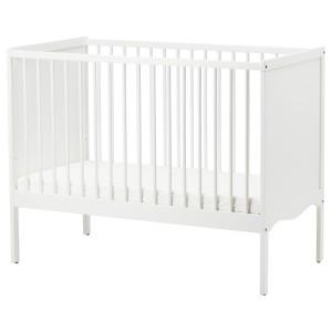 СОЛГУЛЬ Кроватка детская, белый