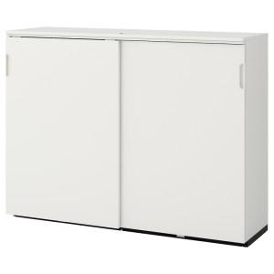 ГАЛАНТ Шкаф с раздвижными дверцами, белый