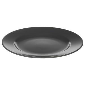 ВАРДАГЕН Тарелка десертная, темно-серый