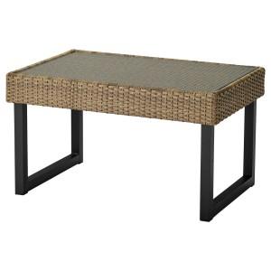 СОЛЛЕРОН Садовый столик, антрацит, коричневый