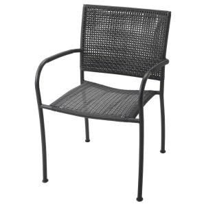 ЛЭККЭ Садовое кресло, серый