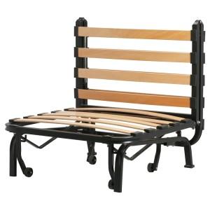 ЛИКСЕЛЕ Каркас кресла-кровати, черный
