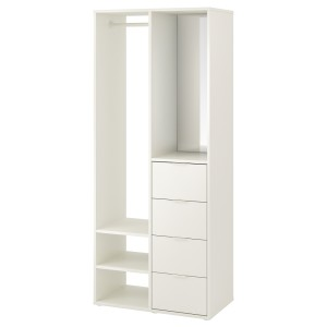 САНДЛАНДЕТ Открытый гардероб, белый