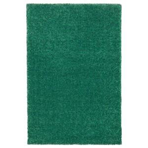 ЛАНГСТЕД Ковер, короткий ворс, зеленый