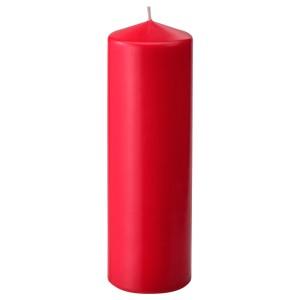 ВИНТЕРФЕСТ Неароматич свеча формовая, красный