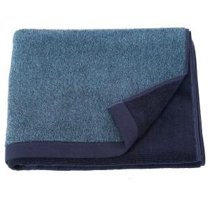ХИМЛЕОН Банное полотенце, темно-синий, меланж