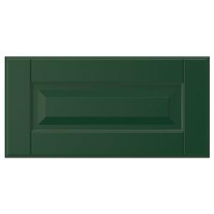 БУДБИН Фронтальная панель ящика, темно-зеленый