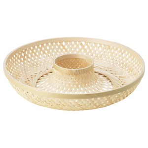 КЛЮФТА Сервировочная корзина, бамбук