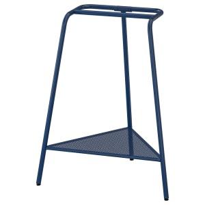 ТИЛЛЬСЛАГ Опора для стола, темно-синий металлический