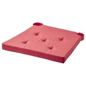 ЮСТИНА Подушка на стул, красный