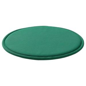 СУННЕА Подушка на стул, зеленый, Лофаллет