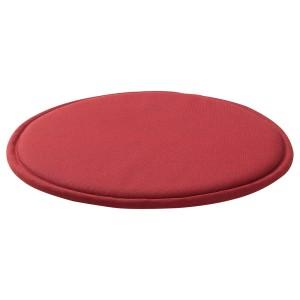 СУННЕА Подушка на стул, красный, Лофаллет