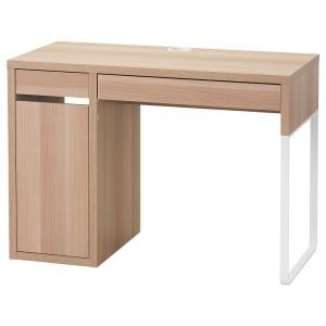МИККЕ Письменный стол, под беленый дуб